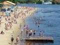 В Киеве запретили купаться на трех популярных пляжах