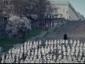 В Одессе появились белые человечки