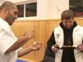 Кадыров получил черный пояс по каратэ