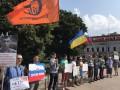 В Москве титушки Кремля напали на пикет против войны с Украиной