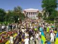 На праздновании Дня независимости в Киеве задержали три человека