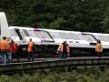 Под Парижем сошел с рельсов поезд: семь пострадавших