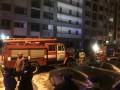 В Киеве произошел пожар в многоэтажном доме