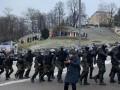 Стычки на Майдане: Пострадали десятки полицейских – полиция