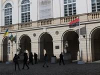 Перед мэрией Львова впервые подняли флаг УПА