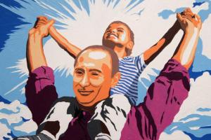 Авиаудар в Сирии. Фотожабы на Путина