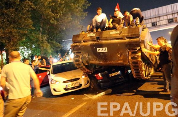 Ночные беспорядки в Турции