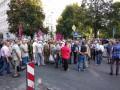 Проезд в центре Киева заблокирован протестующими