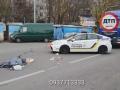 На столичной Борщаговке грузовик раздавил женщину