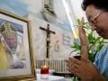 Покушавшийся на жизнь Иоанна Павла II посетил его могилу