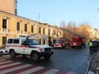 На Подоле в Киеве горело офисное здание