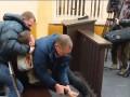 В Запорожье обвиняемый в суде пытался перерезать себе горло
