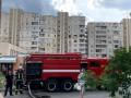 В Киеве пожар на той же улице, где взорвался дом