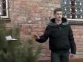Эксперимент: прохожие в Черкассах покупали елки