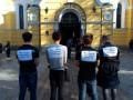 Киевский ВУЗ решил провести молебен вместо занятий