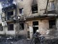 Обстрелы в Донецке: загорелся жилой дом