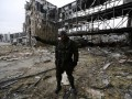 За сутки зафиксировано большое количество обстрелов возле аэропорта Донецка