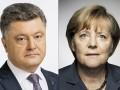 Порошенко рассказал Меркель о попытке наступления войск РФ