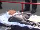 Жители Боярки принесли гроб к Администрации президента