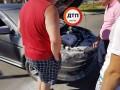 В Борисполе взорвался автомобиль