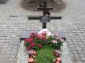 Могилу воина АТО в Сумах повредил мужчина с расстройством психики