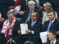Янукович и Коморовский вместе посмотрят финальный матч Евро-2012