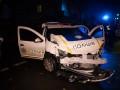ДТП с полицией в Киеве: пострадали четыре человека