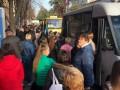 В Днепре транспортный коллапс из-за аварийного общежития