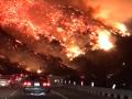 Жуткие кадры пожаров в Калифорнии напомнили ад