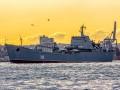 В Черное море на буксире завели десантный корабль РФ