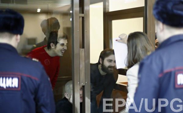 Сегодня в Москве продолжаются суды над украинскими моряками