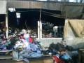 В Сети показали, как выглядит рынок на Лесной после пожара