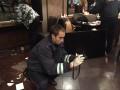 Киевская полиция задержала двух иностранцев, устроивших стрельбу в кафе