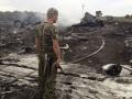 Боевики устроили траурное мероприятие на месте крушения Боинга