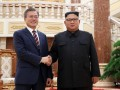 Глава КНДР подарил президенту Южной Кореи двух собак