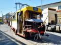 В Одессе трамвай протаранил грузовик