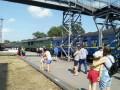 В Запорожской области локомотив врезался в пассажирский состав