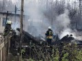 Под Киевом пожар уничтожил дачные дома