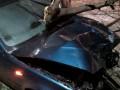 В Борисполе пьяная женщина за рулем снесла столб и дерево