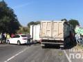 На Львовщине масштабное ДТП: Столкнулись шесть машин, трасса перекрыта