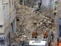 Обвал домов в Марселе: нашли пять тел