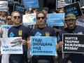Нацкорпус пикетировал дельфинарий в Одессе