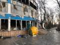 В Донецке сгорел дельфинарий