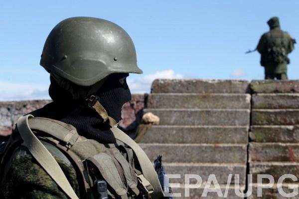 Российские военнослужащие были задержаны представителями СБУ