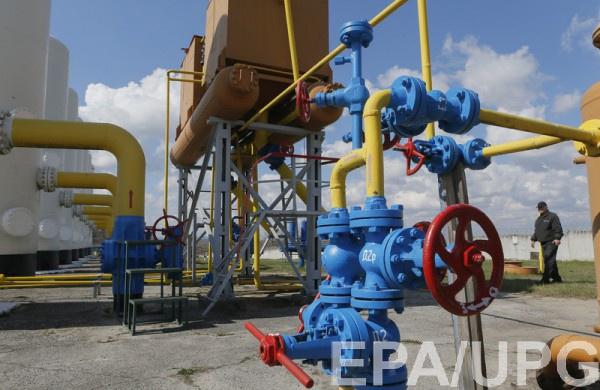 Украина имеет крупнейшие подземные газовые хранилища в Европе