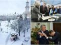 День в фото: драка в Раде, Порошенко в Швеции и заснеженная Украина