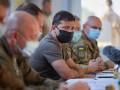 Зеленский на Донбассе обсудил работу ТКГ