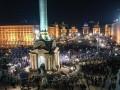 В годовщину Майдана в Киеве снова проходит вече