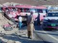 В Пакистане автобус врезался в холм: 26 жертв