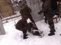 Обнародовано видео ранения комбата